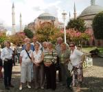 Istanbul Cultural Visit - Christiane, Mark, Richard, Rob, Paul, Flick, Kate, Jan, Pauline and Wilma
