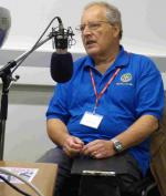 Club showcases action in Community - John on air