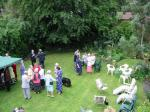 Pictures from the Past - John's garden party 2002