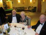 BLACKPOOL SOUTH ROTARY CLUB 2013  CHARTER DINNER.  - Keith & Maureen Barkby and Peter Cropper.