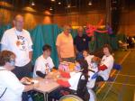 Kids Out Day 9th June 2010 - Des Bathgate, Henry Woolley, Syl Caw, Helpers and children.
