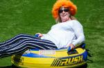 KidsOut Day 2014 - A hair raising ride, the colour suits you.