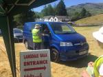 Langdale Gala - Gatekeeping - The gazebo helped us retreat from the heat of the summer's day!