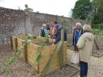 Vist by the Link Club, The Rotary Club of Landerneau, nr Brest - Compost Management at Avebury Manor