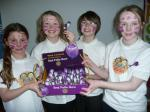 Youth - Lilliesleaf Rotakids go purple for End Polio Now