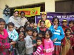 Immunisation Day in India - Linda and more fans