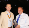The Networking Boys win the Rotary Club of Rayleigh Mill's 8th Annual Charity Golf Tournament - Mark Shruben-Browne was the winner of the Longest Drive competition
