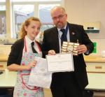 Young Chef Competition - Lydia Bradbury of Streetly School