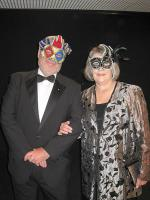 Masquerade ball goers - M13-0040rup