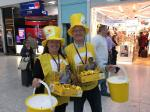Marie Curie Collection at Heathrow T5 March 2017 - First shift reporting for duty