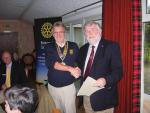 Recent Visitors and Guest Speakers at Skye Rotary - Visiting Rotarian from Worcester