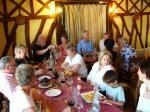 2008 Visit to Magny-en-Vexin - Lunch in Rouen