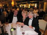 BLACKPOOL SOUTH ROTARY CLUB 2013  CHARTER DINNER.  - Michael & Jean Holland with Michael Woolley.