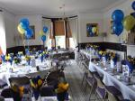 Millom Club Charter Dinner 2014 - The room is ready.
