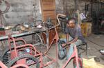 Wheelchairs in Mozambique - the local wheelchair maker's son