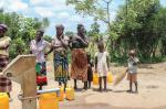 Wheelchairs in Mozambique - communal water supply