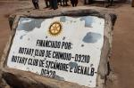 Wheelchairs in Mozambique - A Rotary plaque