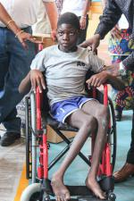 Wheelchairs in Mozambique - after