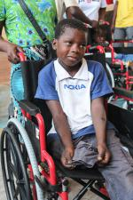 Wheelchairs in Mozambique - Mozambique-Rotary-5415