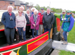 Who we are - Members enjoying a day out with the Narrowboat Trust near Chester