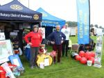 Newbury and Thatcham Rotary Clubs at the Berkshire Show - ...join forces