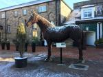 About our Club - Nidd Hall statue of horse
