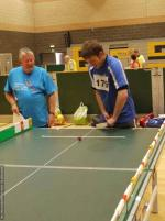 THE DISTRICT GAMES FOR THE DISABLED - Table Cricket