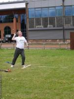 THE DISTRICT GAMES FOR THE DISABLED - Shot Putt