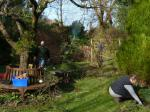 Gardening at Pusey House -