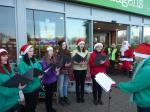 Club Meetings, Fellowship & other Social Events - Singing along with Santa 2012