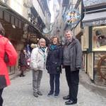 TRIP TO ST MALO WITH WESSEX HEARTBEAT. -