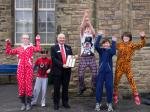 Primary School Quiz - The winning team on Red Nose Day