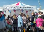 Penicuik in the Park 26th May 2018 - Guides stall