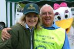 Rotary supports the Summer Festivities at the Carse Country Fair - Penny for your thoughts Daisy!