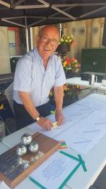 Wells Boules Tournament July 2018 - Peter A - Judge