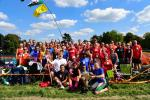 Cookham Regatta - Handy Cross runners and Marlow Striders celebrate