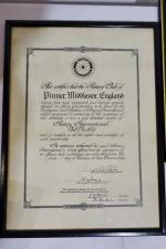75th Anniversary Celebration - The original Charter