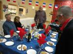Plat du Jour Evening - Mendip Rotary President thanking attendees for their contributions to charity.