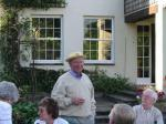 Pictures from the Past - President John in hat 2002