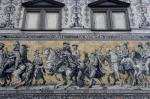 2013  Link Visit to Dresden - This 101m long mural represents the history of Saxony's ruling family.