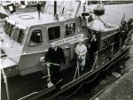 The Rotary Life Boat - Rotary Service - Falmouth & Dover, UK - at a Naming Ceremony held in October 1979.