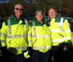 Rotary Fun Run in the park - In safe hands. Many thanks to the Market Bosworth 1st Responders and the Leicester Ambulance Service for providing their services