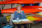 Swimathon Challenge - Bernice, organiser in chief.
