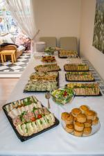 President's Final Fling - Always got to have a photo of the food.