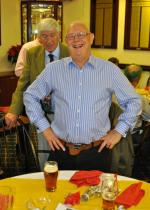 Members Christmas meal - Great to see Ken at the Club. And Les too.