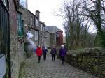 New Year Walk - Arriving in New Mills