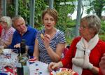 2012 06 05 Jubilee Party - Jane can't quite do the crooked finger thing.