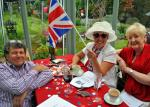 2012 06 05 Jubilee Party - Waving the flag.