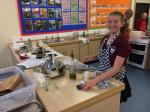 Young Chef 2016 at Richard Lander School - The winner, Scarlett