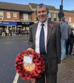 Remembrance Day 2018 - Ready to Lay the Wreath